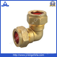 Brass Elbow Fitting with Compression Both Ends (YD-6040)