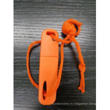 Mini Fire Starter, Fire Maker en una caja de plástico.