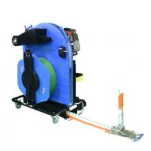 Manufacturer Supply Pallet Strapping Machine Semi-auto Strap Pallet Packing Machine