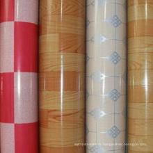 100% PVC imperméable à l'eau de plancher de vinyle de PVC de WPC