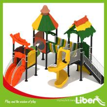 Lala Forest Series Design Plastic Outdoor Children Playground Slides for Sale