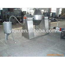 Metal oxide powder double tapered vacuum drier