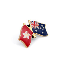 National Flags Badges, Metal Lapel Pins (GZHY-LP-029)