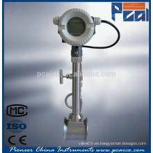 Medidor LUGB / medidor electrónico de flujo Vortex
