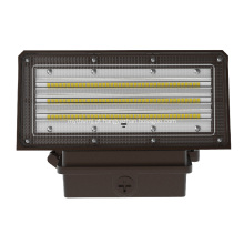 Carcaça de alumínio 140lm / W All-in-one LED wall pack lights