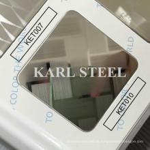 Hohe Qualität 410 Edelstahl Farbe Ket010 geätzten Blatt