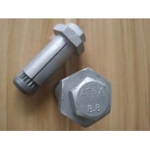 Болт и анкерная гильза для металлоконструкций