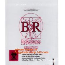 Biohazardous Waste Bag \PE type Yellow Medical Waste Bags, Plastic Medical Printed Waste Biohazard Bag