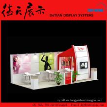 6x9m Burly Medium China Shanghai Diseño de la cabina de helado de madera