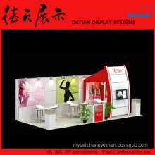 6x9m Burly Medium China Shanghai Wooden Ice Cream Booth Design