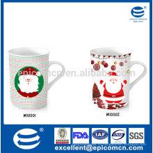 Хорошая коробка упаковка 9-12oz фарфор посуда фарфор Рождественская кружка дизайн
