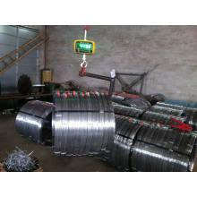 Carbon Steel 1045 Galvanisierter Oval Draht