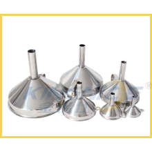 6 Pieces Stainless Steel Funnel Set