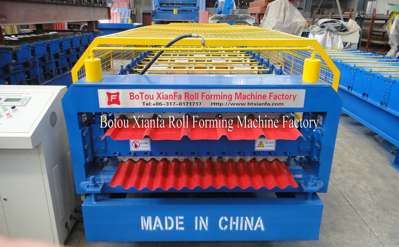 roll forming machine shearing head