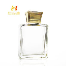 Gold Color Square Plastic Perfume Bottle Cap Cosmetic Lids