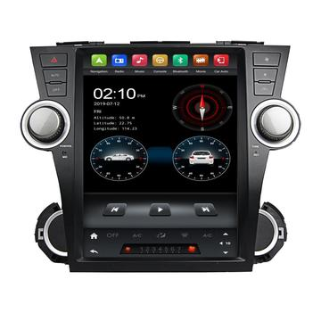 tesla android head unit voor Toyota Highlander 2008
