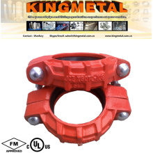 High Pressure Marine Used Ductile Cast Iron Grooved Rigid Coupling