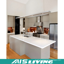 Meubles d'armoires de cuisine UV avec l'île (AIS-K331)