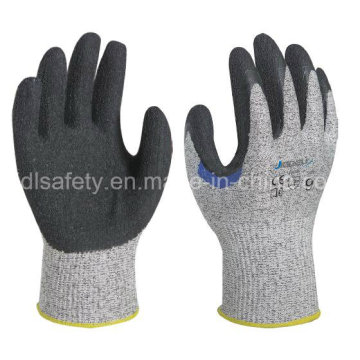 Reinforced Anti-Cut Work Glove with Natural Latex Dipping (LD8050)