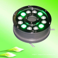 china supplier new product 100-240v 12V 24V 9w 12w ip65 RGB underwater led lights for small fountains