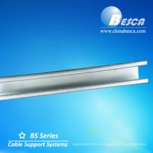 Canal de aço inoxidável do suporte (UL, cUL, CE, IEC e GV)