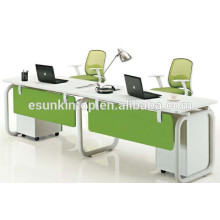 Hot sale 2 person office workstation staff desks