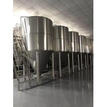 Fermenteur de bière artisanale en acier inoxydable