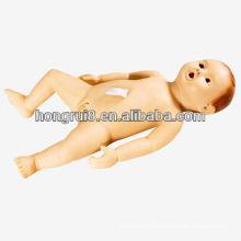 Mannequin de bébé de formation en soins infirmiers médicaux de style nouveau