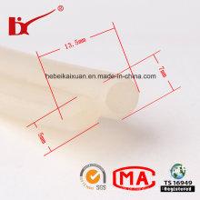 Tiras transparentes claras do selo da afiação da borracha de silicone com tamanhos diferentes