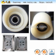 the plastic wheel within bearing use for escalator,forklift