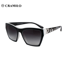 2018 new manufacturer black square women sunglasses