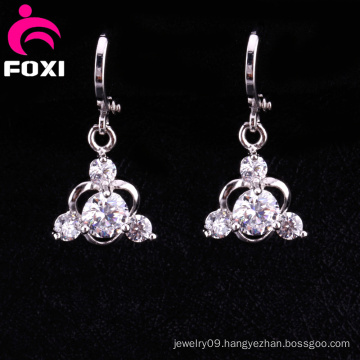 Newest Design Gold Plating Fashion Chandelier Earrings
