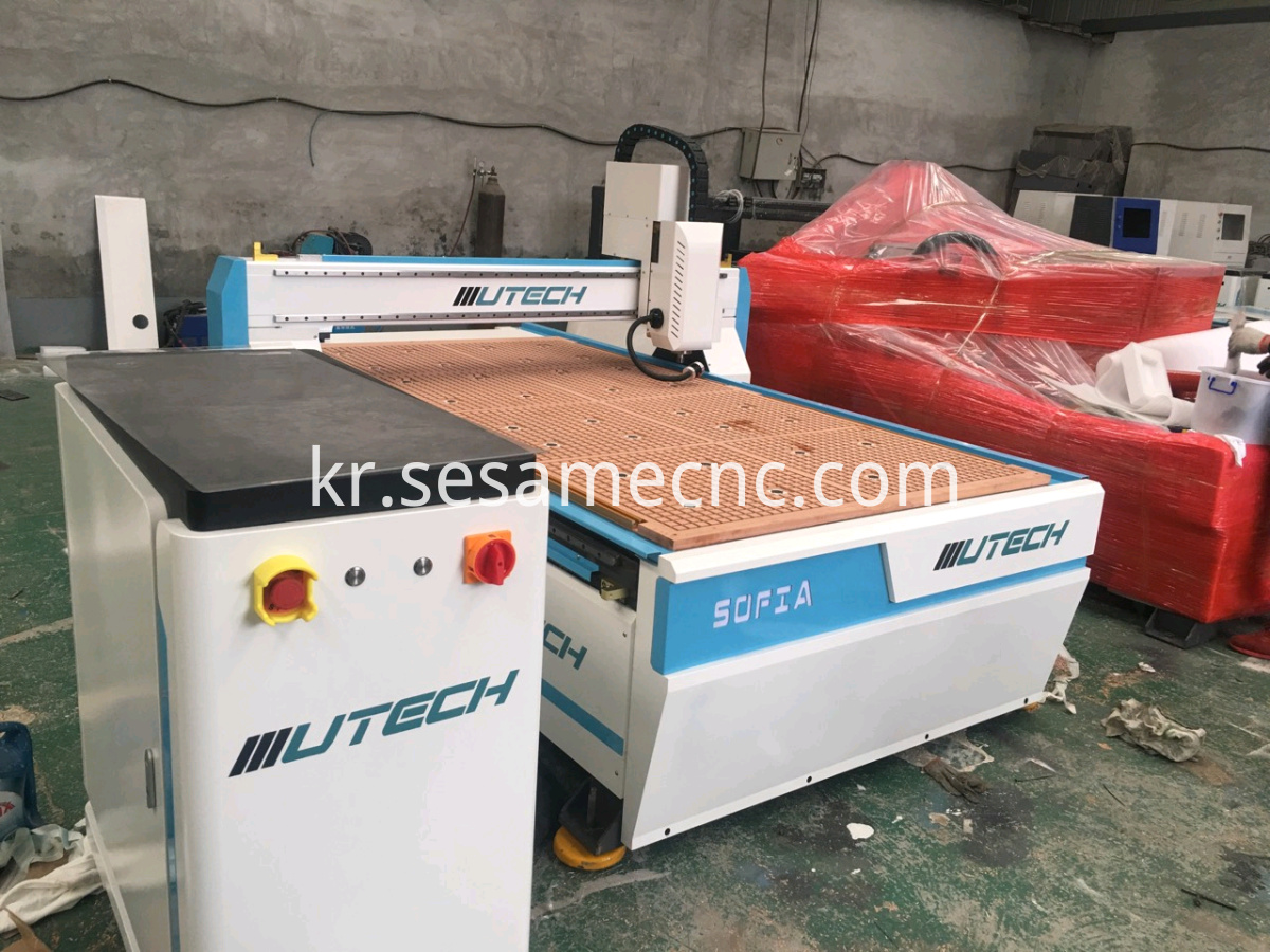 Wood CNC Router 1325 with CCD Camera