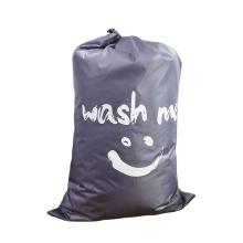china factory promotional Custom low price print nylon folding laundry bag