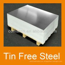 Impreso acero gratis TFS ECCS lata de metal de la corona ad puede producción