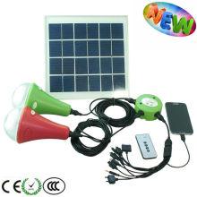 MINI solaire led système d'éclairage à la maison pour camping/randonnée/urgence