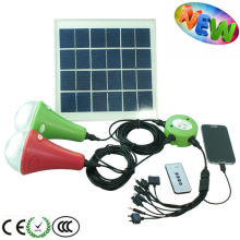 MINI solar led home lighting system for camping/hiking/emergency