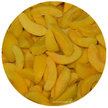 IQF frozen fruit Frozen yellow peached sliced frozen yellow peaches