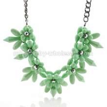 Nuevo diseño espina forma antiguo collar de Abalorios acrílicos Link