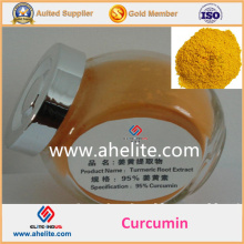 Curcumina preço extrato orgânico 95% pó de curcumina
