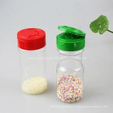 Пластиковая бутылка для бутылки соли с откидной крышкой (PPC-PSB-08)