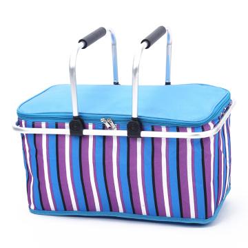 Travel Tote Basket Cooler Bag