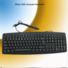 CE RoHS-Zertifikat verdrahtete USB-Tastatur (KB-1805)