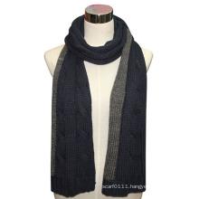 Lady Long Fashion Acrylic Wool Knitted Winter Scarf (YKY4330)