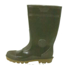 Black Men's Steel Toe Guard Boots