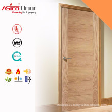 ASICO Residential Solid Wooden Fire Rated Kitchen Door With BS Standard