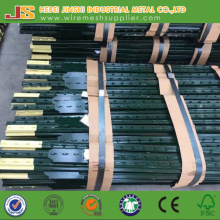 Steel Metal Type and Heat Treated Pressure Treated Wood Type T Post Made in China
