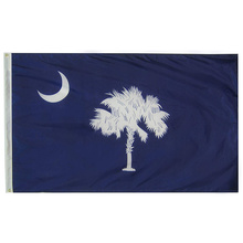 Hochwertige 3x5 Ft South Carolina State Flag