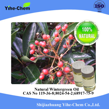 Venta al por mayor aceite de wintergreen del metilo natural 100% puro