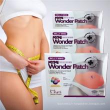 Merveille de Mymi sud-coréen Patch ventre minceur Patch 5PCS/boîte